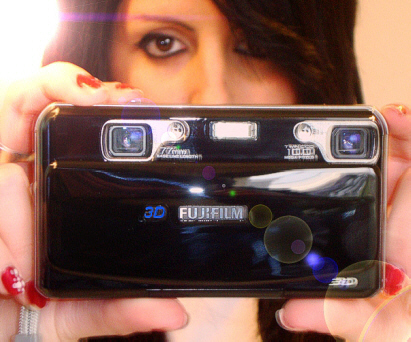 Camara 3D FINEPIX REAL3D